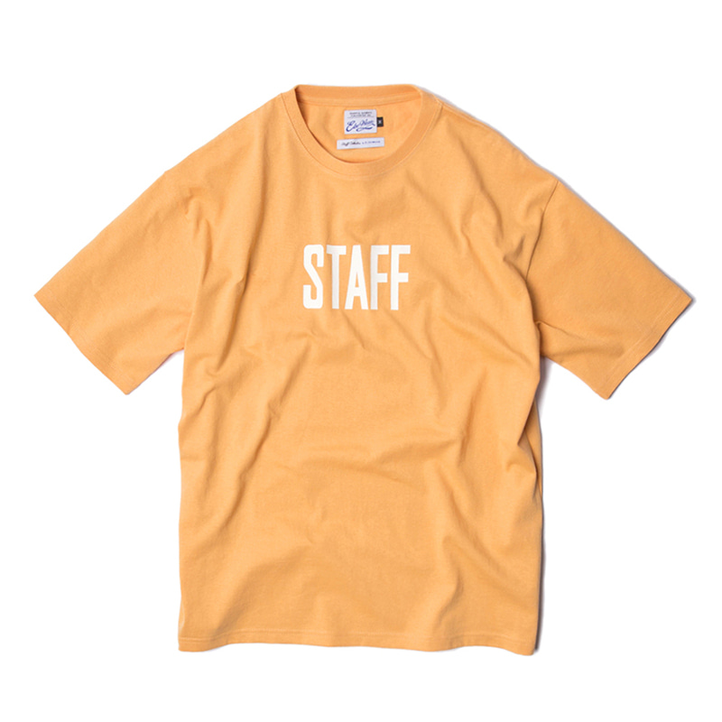 STAFF COLLECTION SS TEE - PEACH
