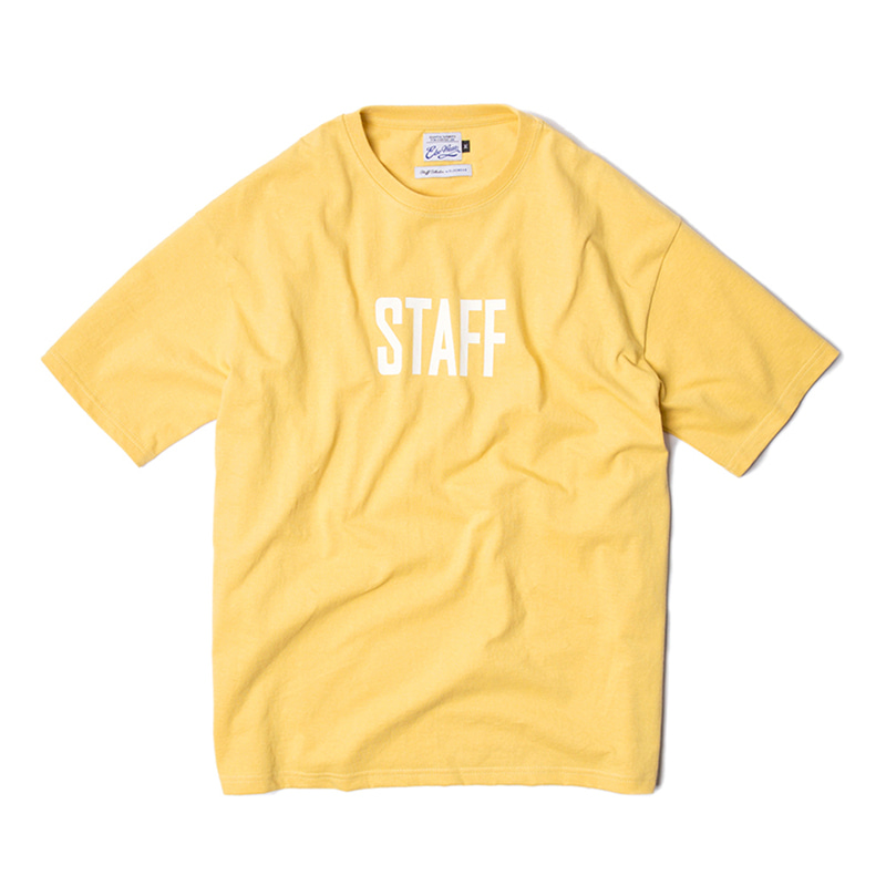 STAFF COLLECTION SS TEE - PINEAPPLE