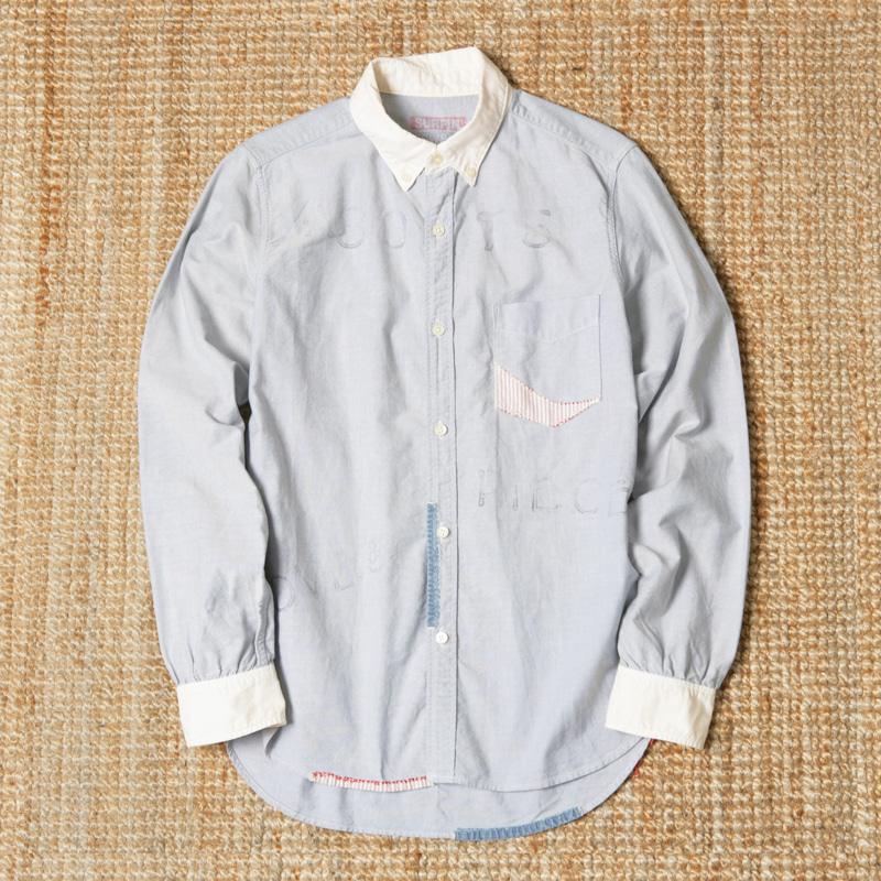 SURFIN COWBOY LS PRINTED BUTTON DOWN SHIRTS