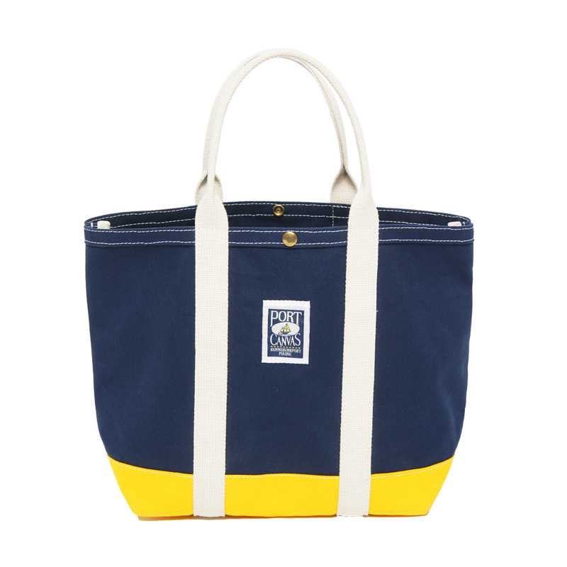 CLIPPER TOTE - NAVY/YELLOW