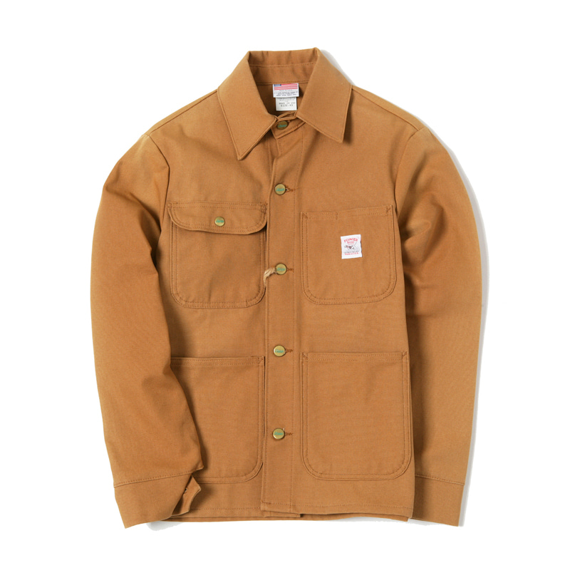 CHORE COAT - BROWN DUCK CANVAS