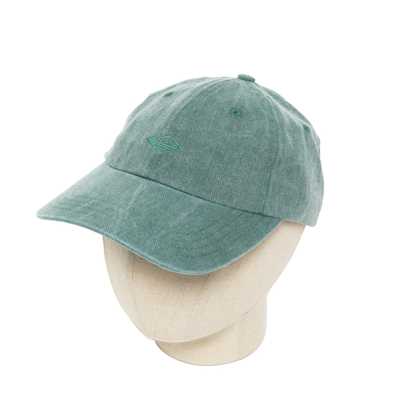 FIELD CAP - DISTRESSED GREEN