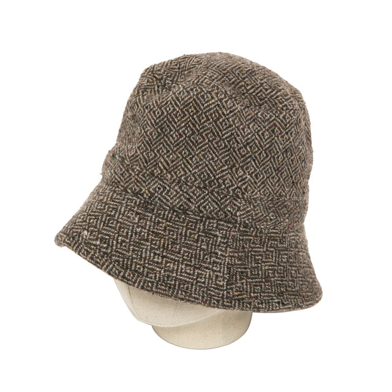 BUCKET HAT - SUBLPINO MAZE BROWN