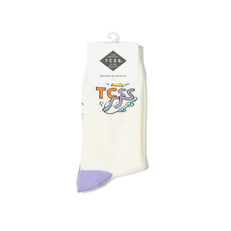FLARIN SOCKS - WHITE