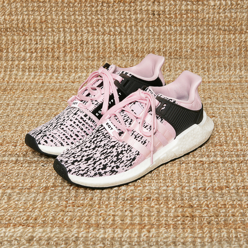 ADIDAS EQT SUPPORT 93/17 - GLITCH PINK/BLACK