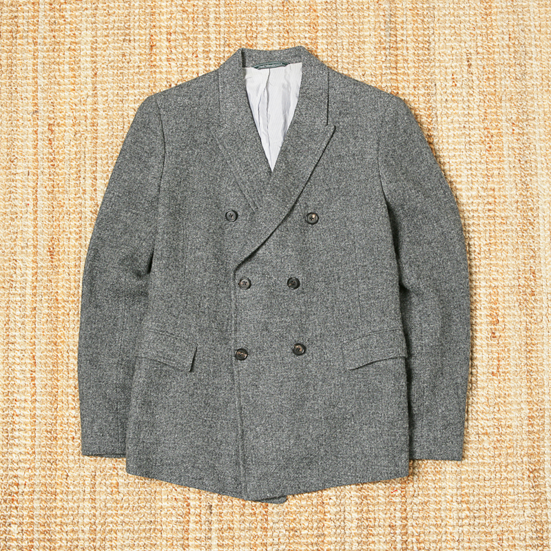 BAND OF OUTSIDERS WOOL DOUBLE BREASTED JACKET