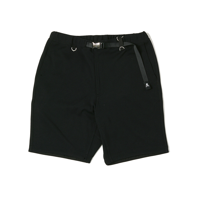 X MASTER MIND SHORTS - BLACK