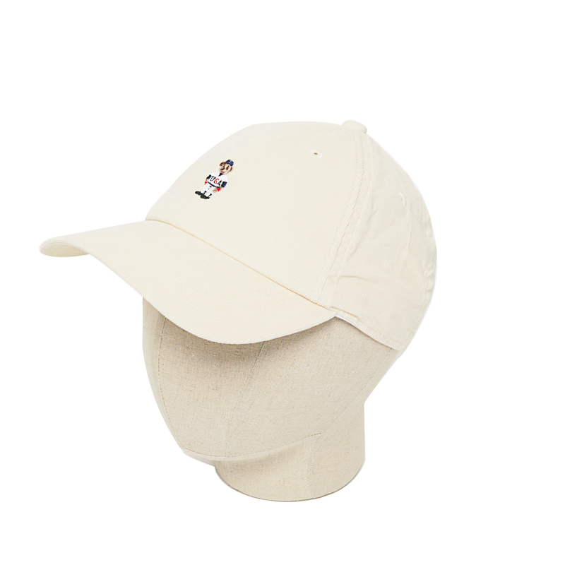 CODUROY BEAR CAP - WHITE