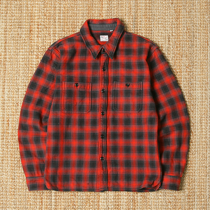 THE FLAT HEAD HEAVY COTTON FLANNEL SHIRTS