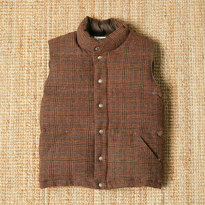 CRESCENT DOWN WORKS WOOL VEST
