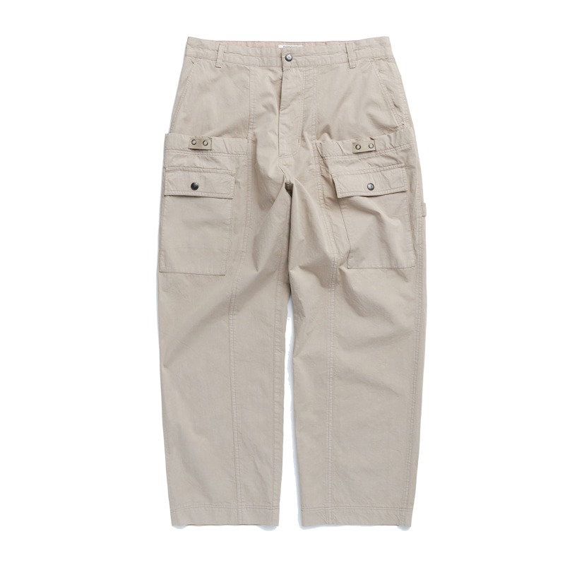 WAGON PANTS - DYED BEIGE