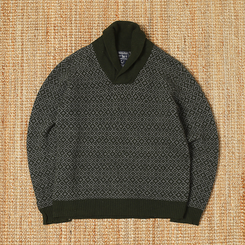 WOOLRICH SWEATER - CHARCOAL