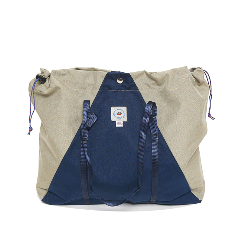 LARGE CAMP TOTE - MIDNIGHT/CAVE