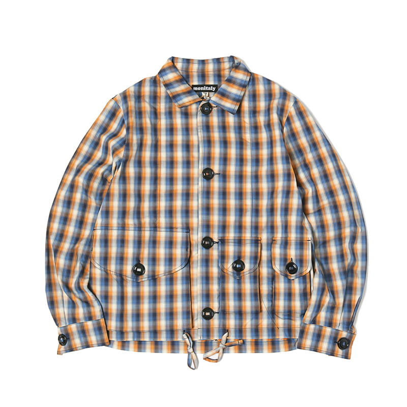 MILITARY SERVICE TYPE A JACKET - VANCLOTH OXFORD PLAID