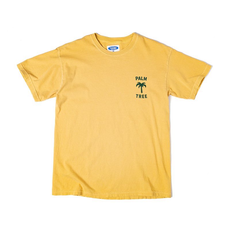 PALM TREE T - SAND YELLOW