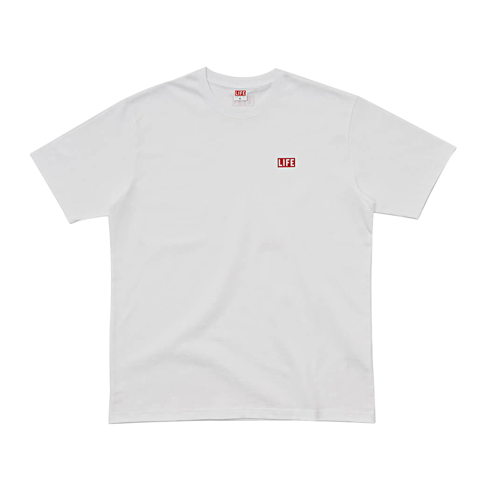 SMALL LOGO T-SHIRT - WHITE