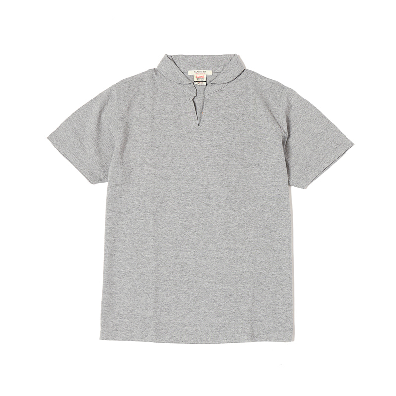 SKIPPER S/S TEE - GREY