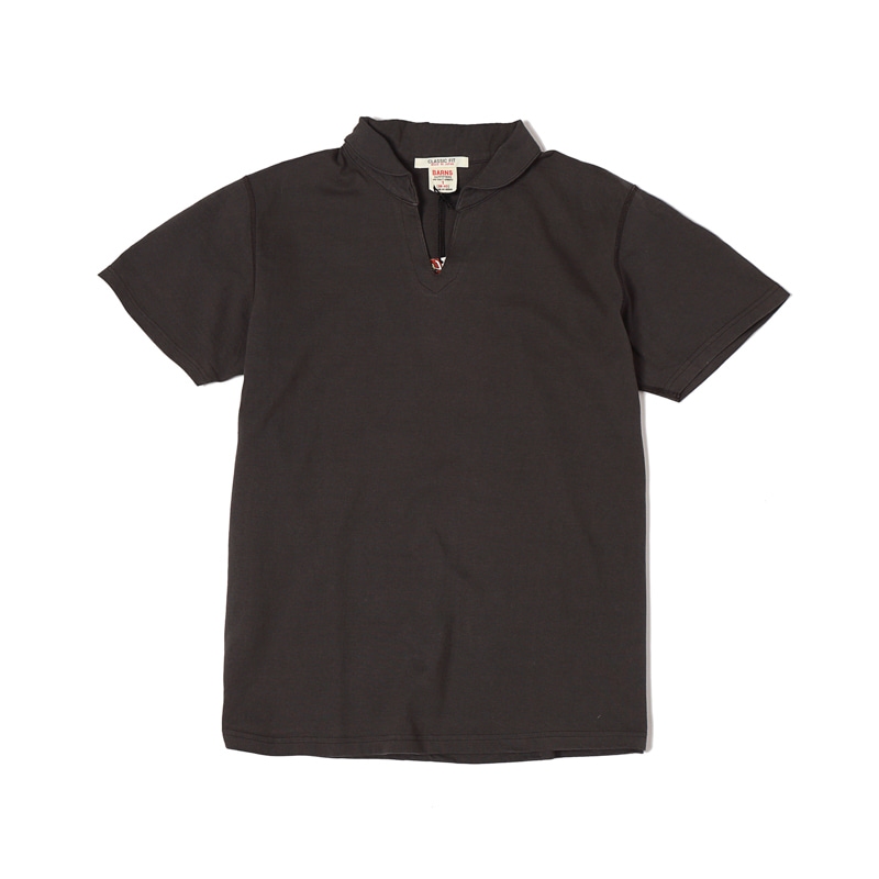 SKIPPER S/S TEE - BLACK
