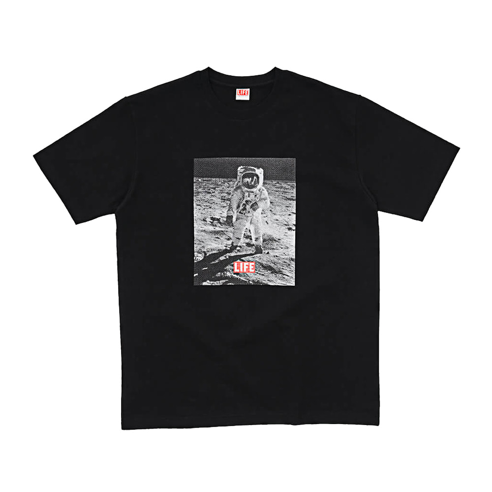 MOON LANDING T-SHIRT - BLACK