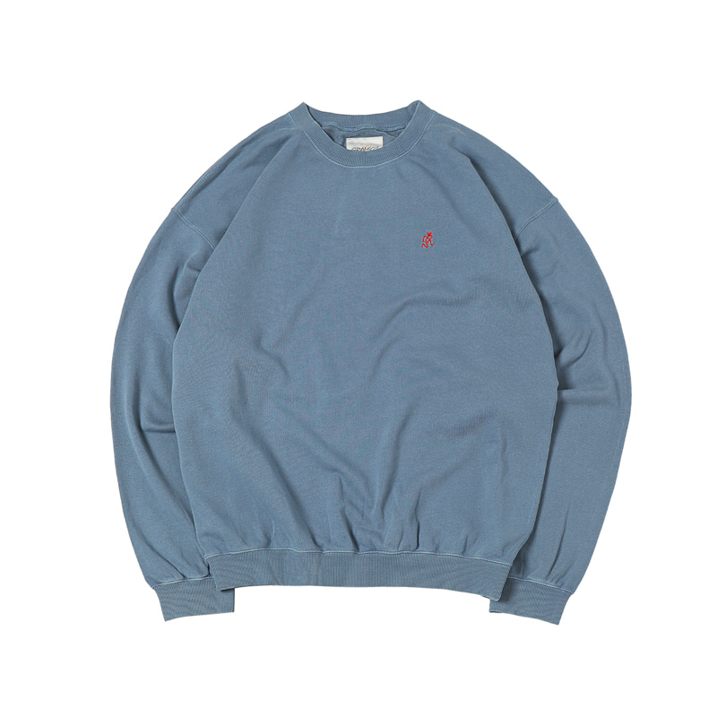 SWEAT SHIRTS - SMOKY BLUE