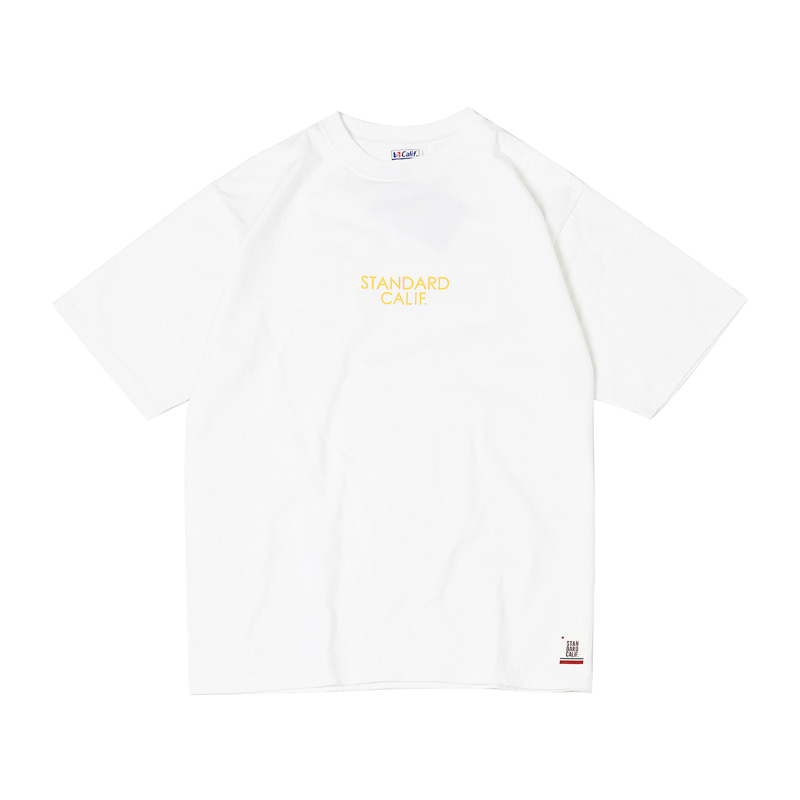 HEAVY WEIGHT LOGO TEE - WHITE