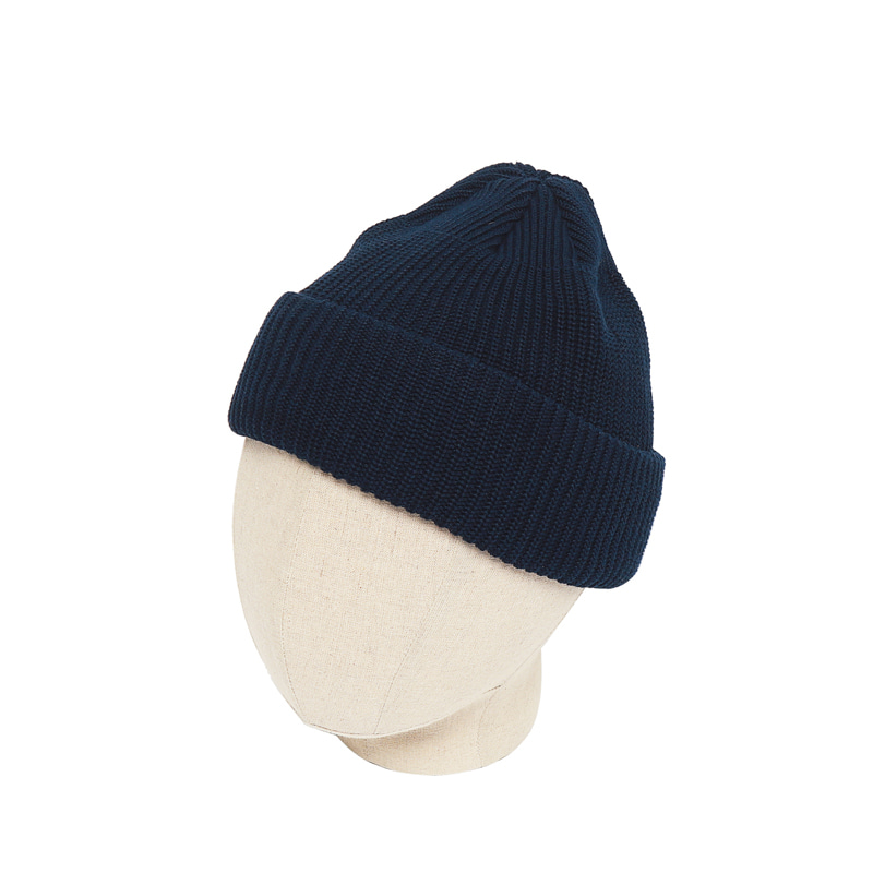 KNIT CAP - NAVY