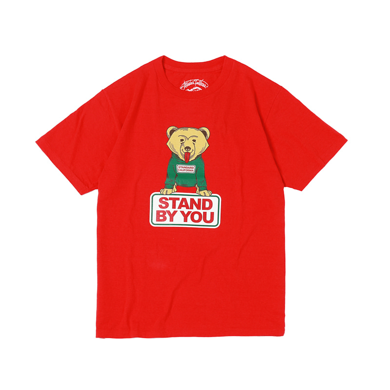 STAND BY YOU TEE - RED