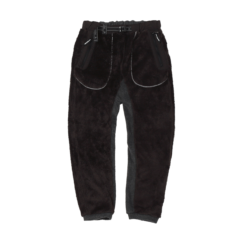 TOP FLEECE PANTS - BLACK