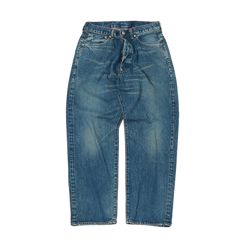 NEW FARMERS 5 POCKET DENIM -  USED