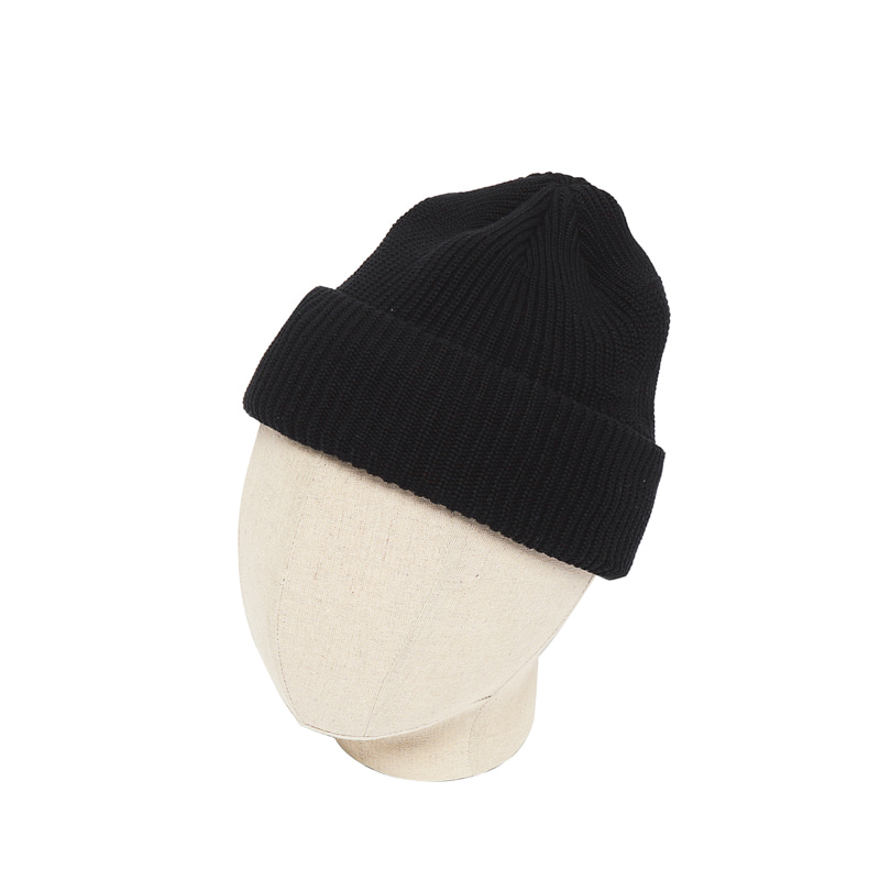 KNIT CAP - BLACK