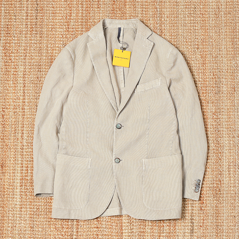 MONTEDORO TWO BUTTON JACKET