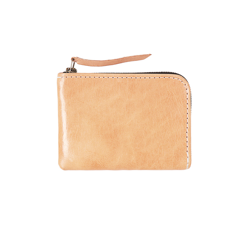 UNIVERSAL ZIP WALLET - NATURAL