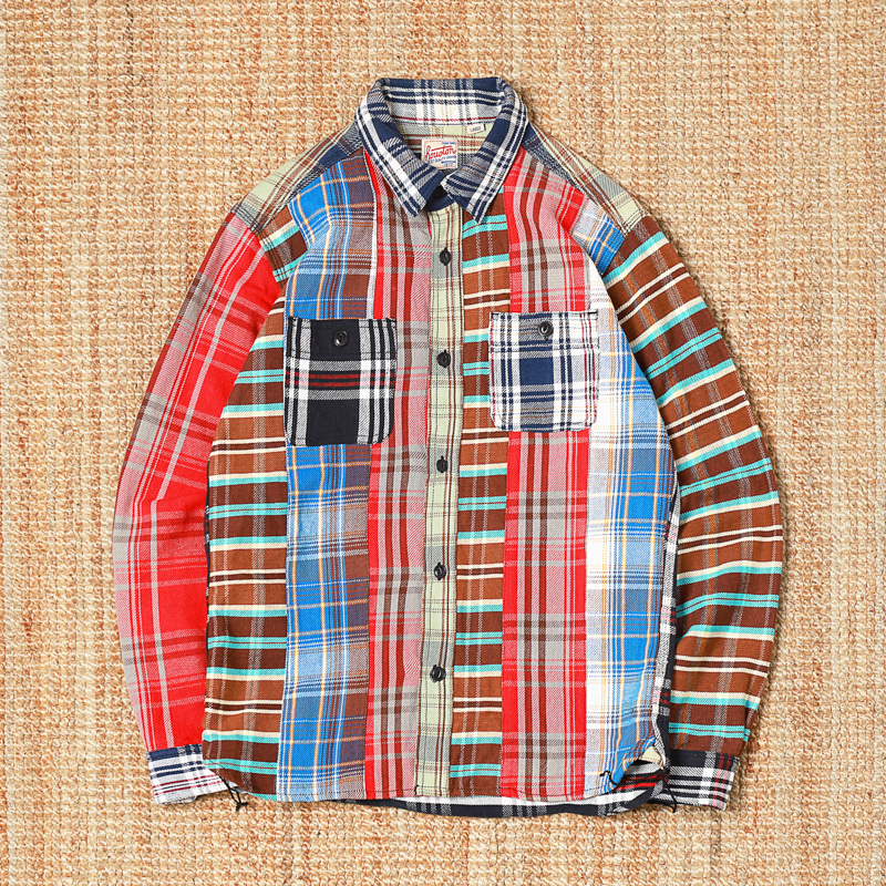 HUSTON HEAVY COTTON FLANNEL SHIRTS
