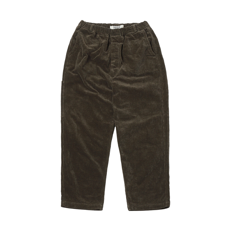 TRAVAIL EASY PANTS - OLIVE
