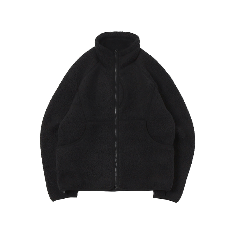 CLASSIC FLEECE JACKET - BLACK