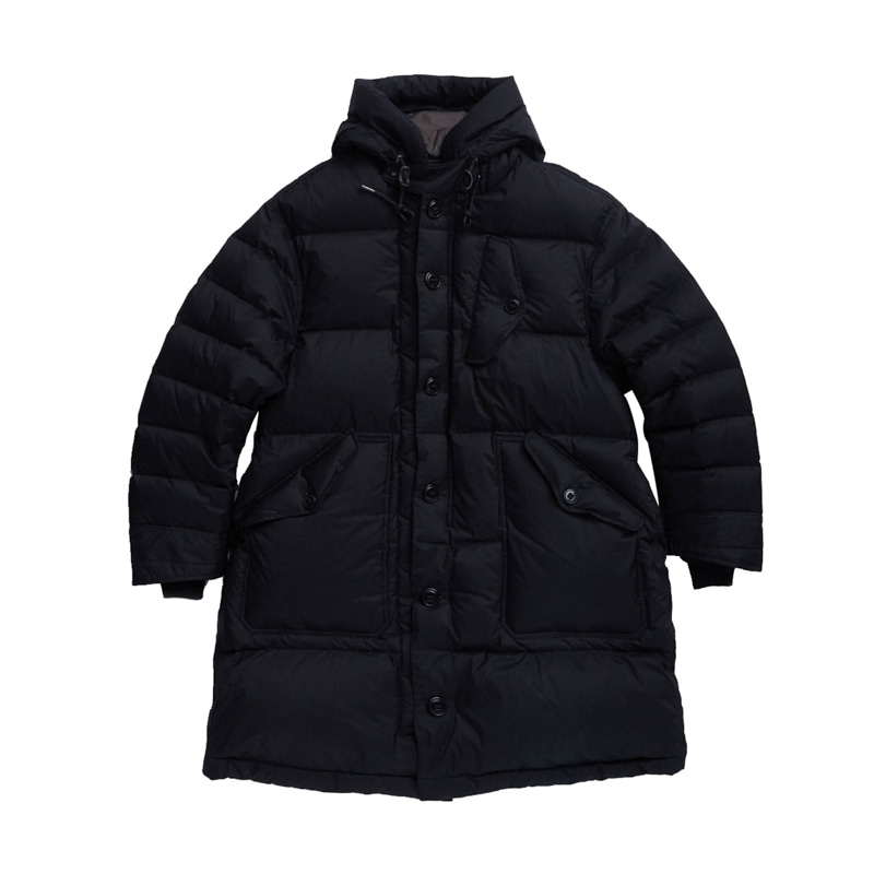 RAF COLD WEATHER DOWN PARKA - BLACK SHIELD