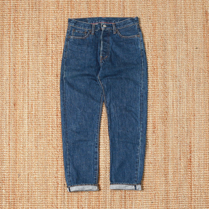 ORDINARY FITS ROLL UP DENIM JEANS