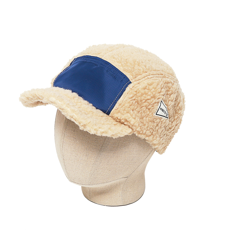 BOA FLEECE CAMP CAP - BEIGE BLUE
