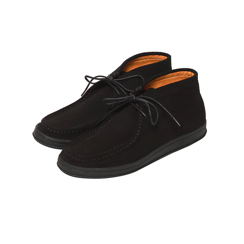 BOO MID SUEDE - BLACK