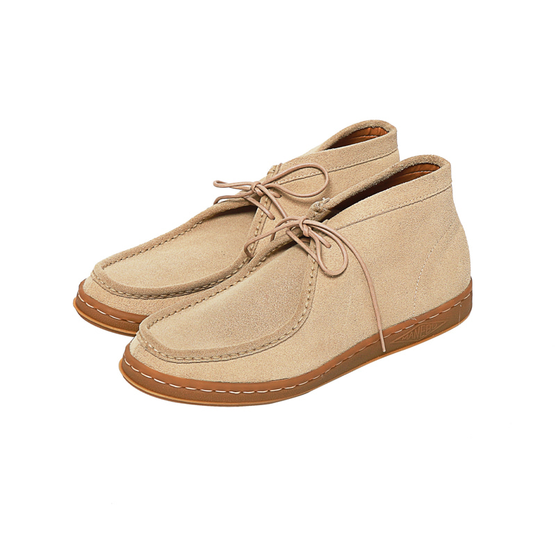 BOO MID SUEDE - SAND BEIGE