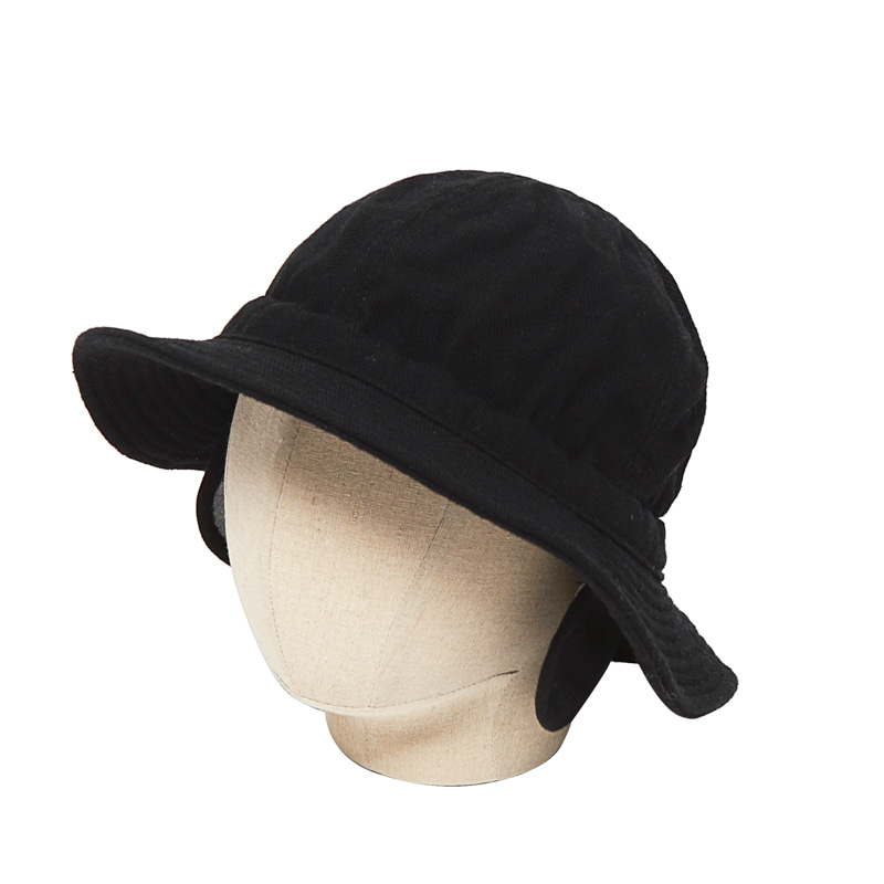 EARMUFFS HAT - BLACK