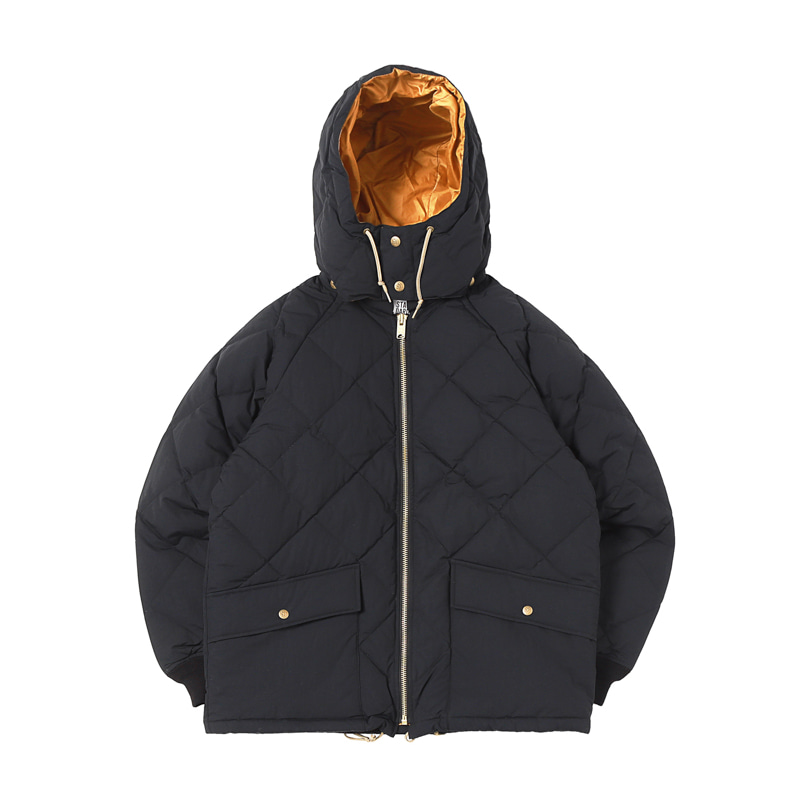 CLASSIC QUILTED DOWN JACKET - BLACK