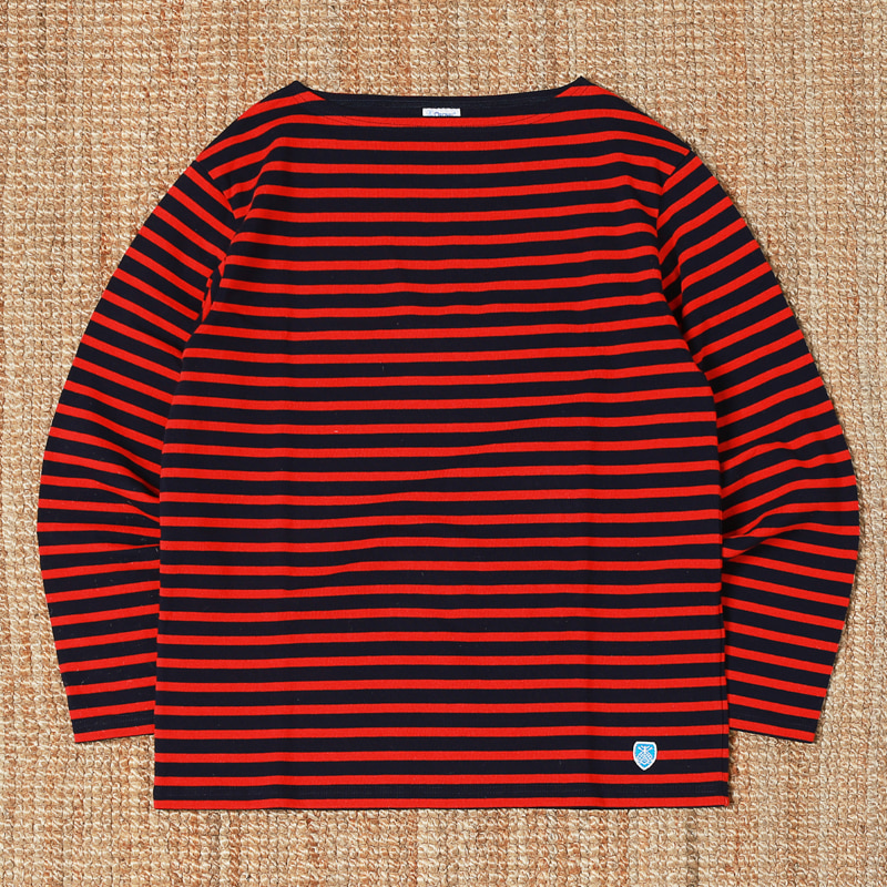 ORCIVAL STRIPED T SHIRTS - RED / NAVY