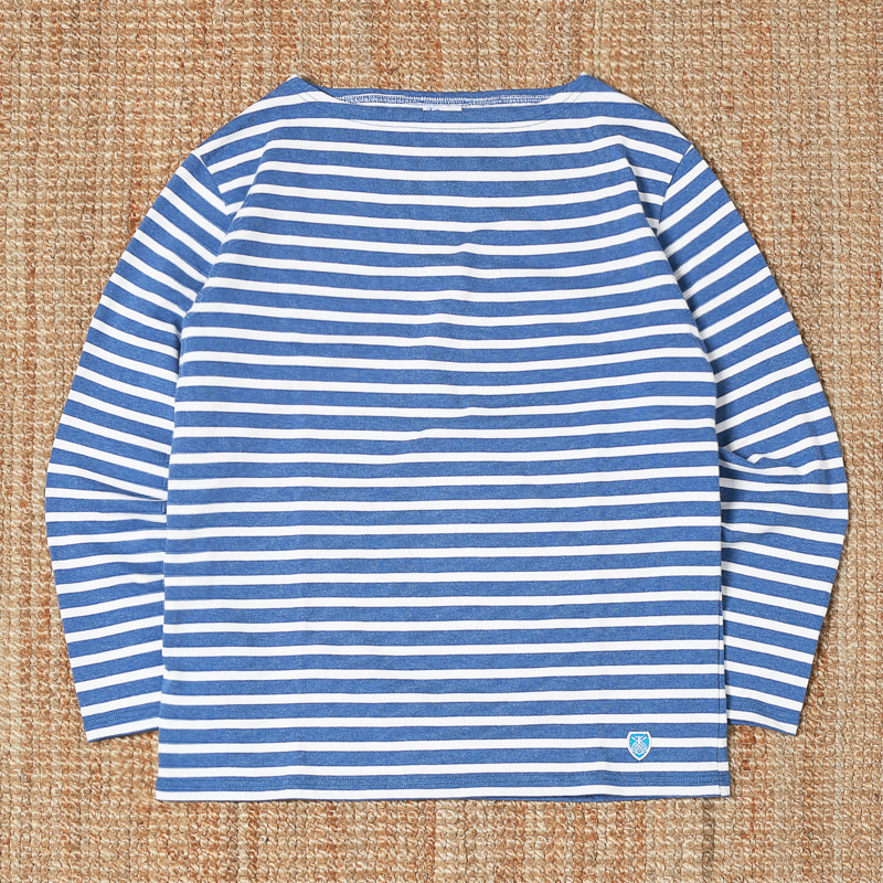 ORCIVAL STRIPED T SHIRTS - LIGHT BLUE