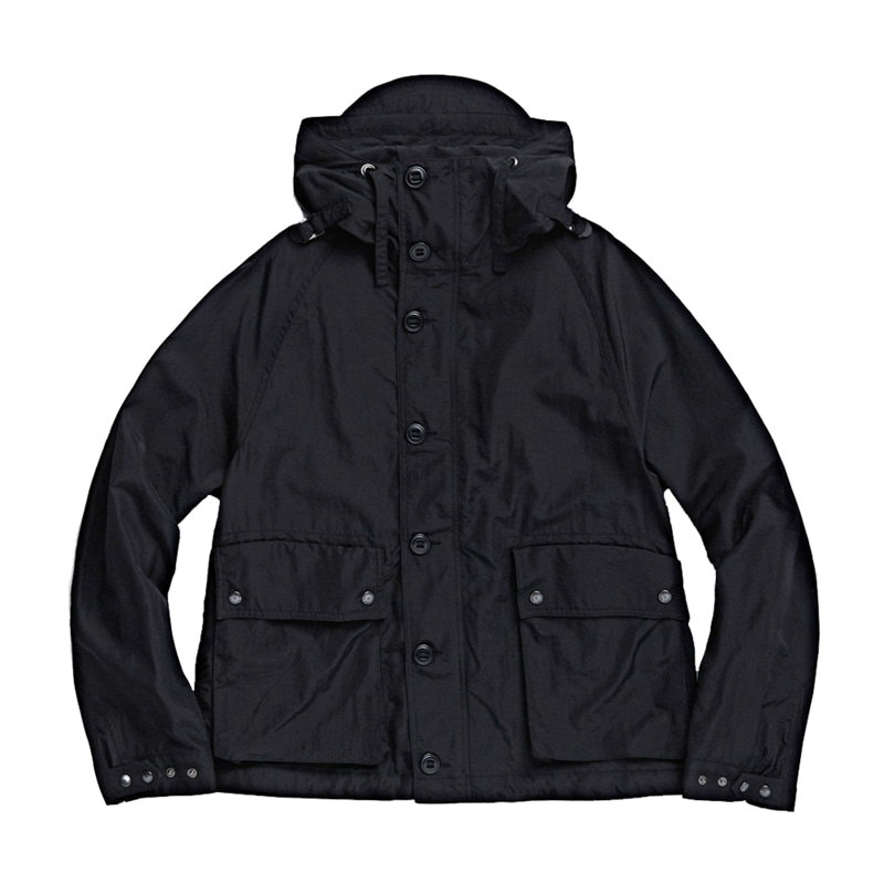 FOUL WEATHER PARKA - BLACK NYLON WASHER