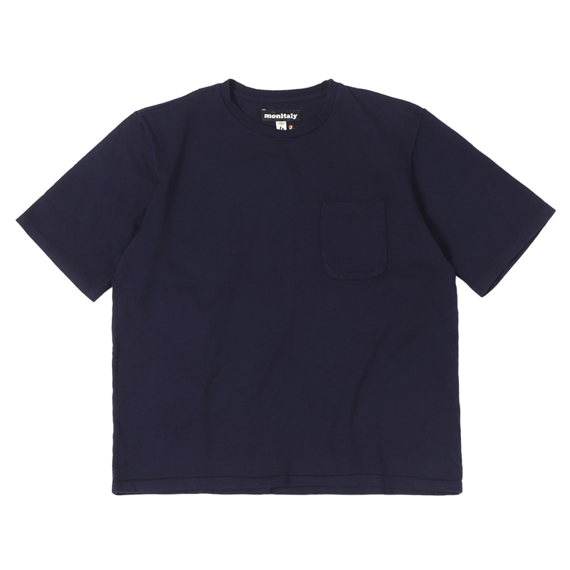 S/S POCKET TEE - NAVY
