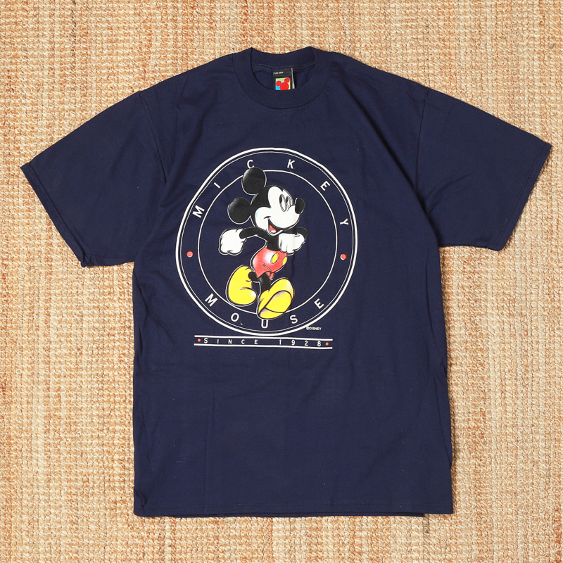 VELVA SHEEN MICKEY MOUSE SS TEE - SINCE 1928 PRINTED