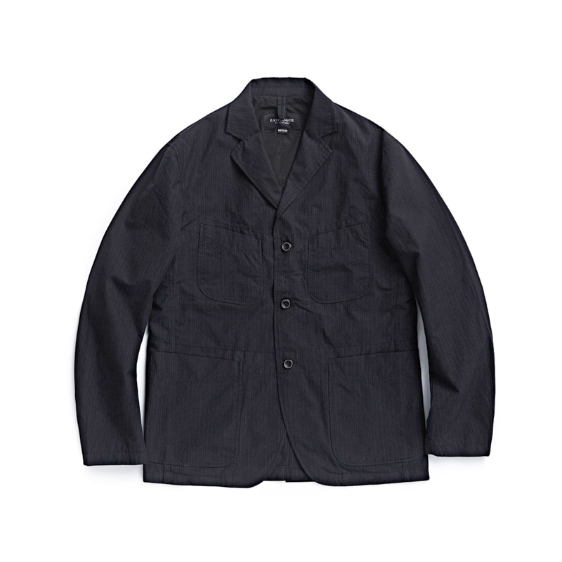 4 POCKETS JACKET - BLACK PIN STRIPE