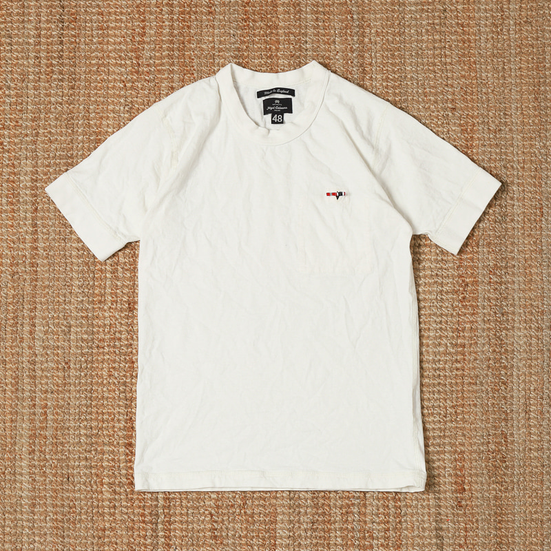 NIGEL CABOURN POCKET TEE - WHITE